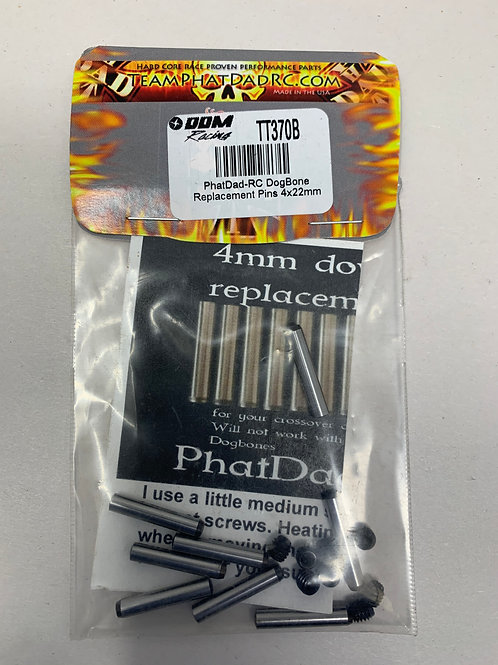 NEW PHAT DAD REPLACEMENT 4x22mm PINS