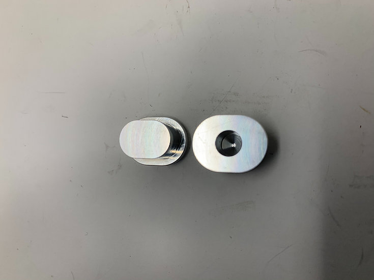 OUTLAW HYBRID BILLET HINGE PIN INSERTS (2pc)
