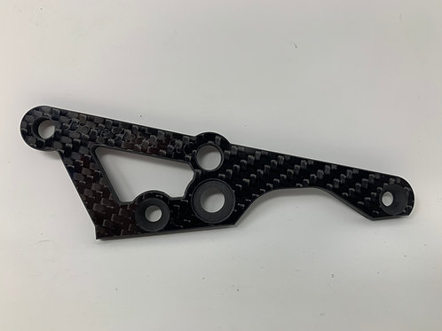 BONEHEAD RC BAJA CARBON FIBRE RH ENGINE MOUNT BRACE