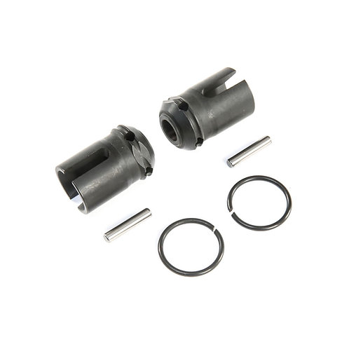 F/R Center Drive Dogbone Coupler (2): 5ive-T 2.0 - LOS252090