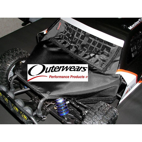 OUTERWEARS LOSI 5T CHASSIS SHROUD - BLACK