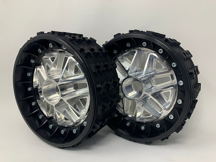 """PAIR OF SERIES-X 3"""" with 3D 24mm Hex Centers"""