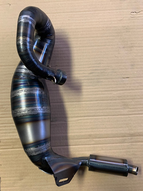 RCMAX LOSI SILENCED BIG BORE EXHAUST PIPE