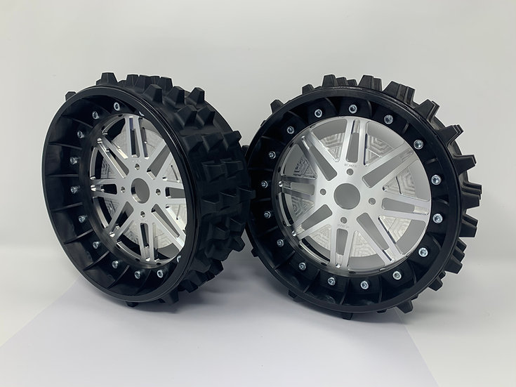 "PAIR of SUPER SPIKE 3"" with Lightweight Centres for BRP Hubs"