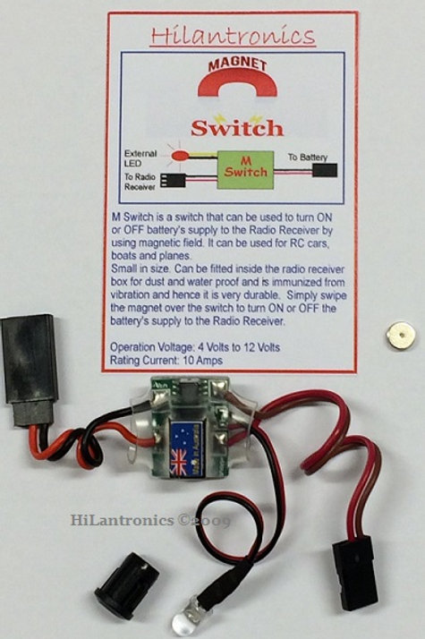 HILANTRONICS MAGNETIC ON/OFF SWITCH