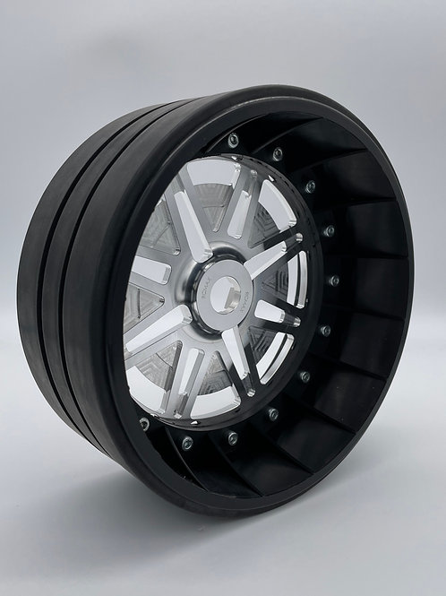 """PAIR OF 3"""" SLICKS with Lightweight Centres For 24mm HEX"""