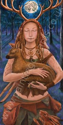 Lady of the Wild Wood Banner