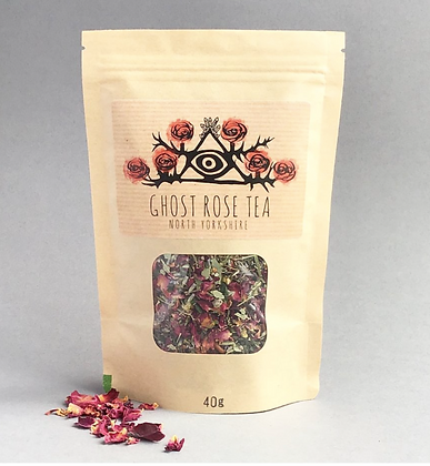 Ghost Rose Tea by Tarn + Moon