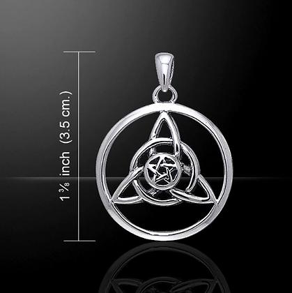 Druids Amulet Silver Necklace
