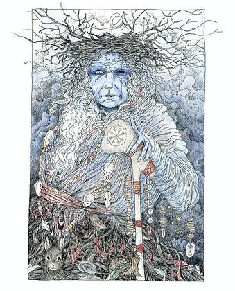 The Cailleach - Art Print