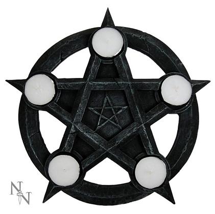Pentagram Tealight Holder