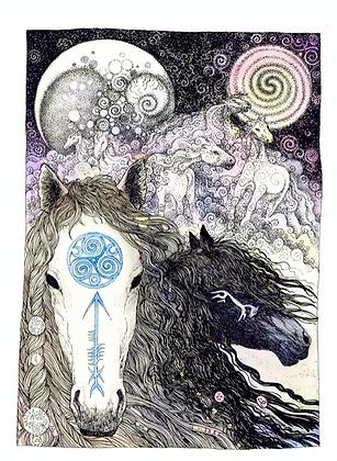 Horse - Art Print