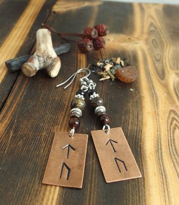 Power Viking Rune Earrings