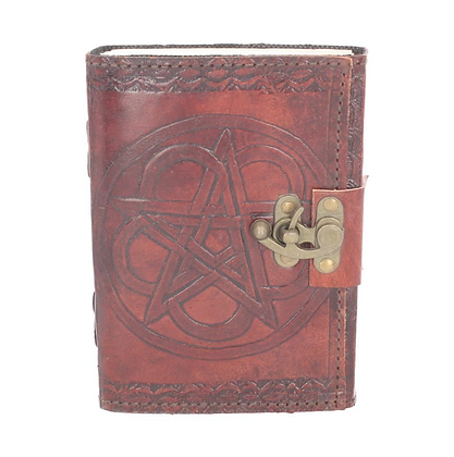 Leather Embossed Book of Shadows