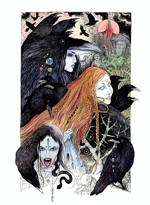 Morrigan - Art Print