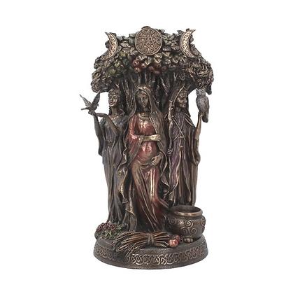Maiden, Mother, Crone Bronze Statue