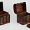 Thumbnail: Wooden Treasure Chest - Ancient Scroll Design