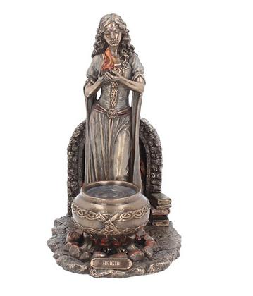 Brigid Goddess Bronze Statue