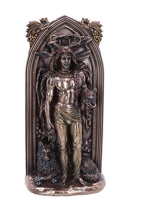 The Druid Bronze Statue