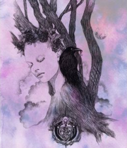 Elder Tree Spirit - Art Print