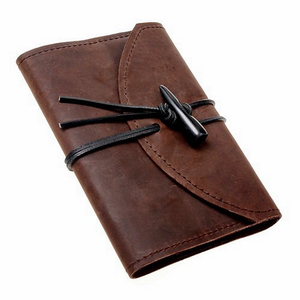 Leather Journal Holder plus Notepad