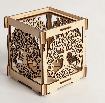 Tree of Life Shadow Lantern