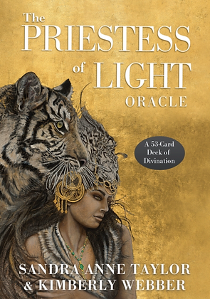 The Priestess of Light Oracle Cards by Sandra Anne Taylor