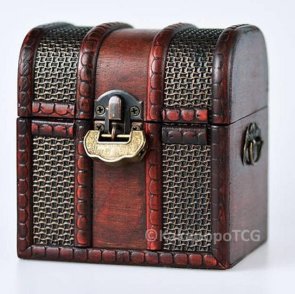 Wooden Treasure Chest - Chainmail Design