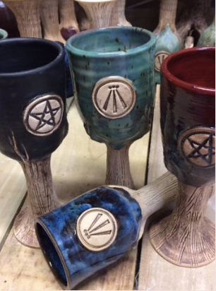Goblet with Pentacle Symbol