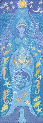 Water Goddess Banner