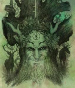 Oak Tree Spirit - by NomeArt