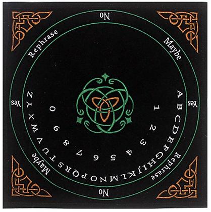 Embroidered Celtic Pendulum Mat