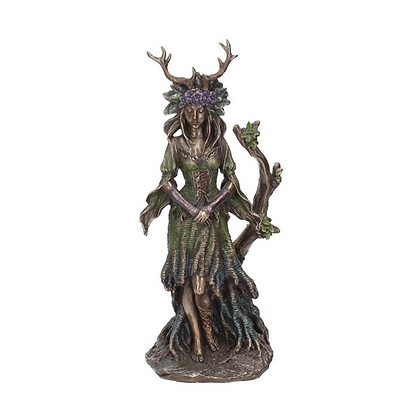 Lady Of The Forest Bronze Statue