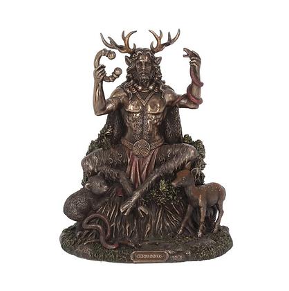 Cernunnos Bronze Statue