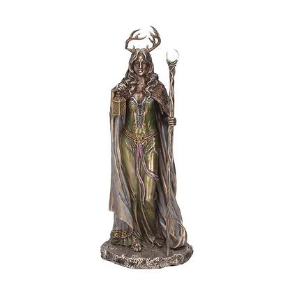 Elen of the Ways Bronze Statue