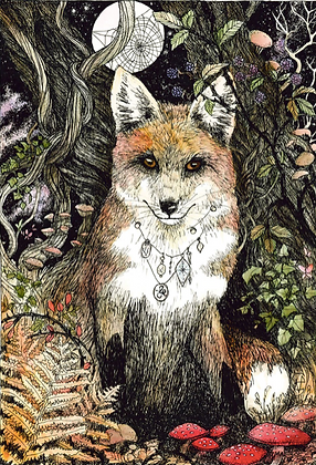 Fox - by NomeArt