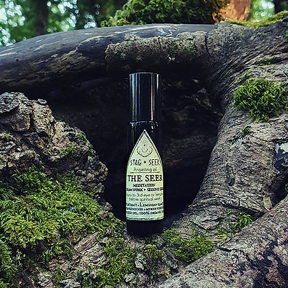 The Seer Anointing Oil by Stag + Seer