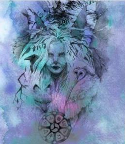 Birch Tree Spirit - Art Print