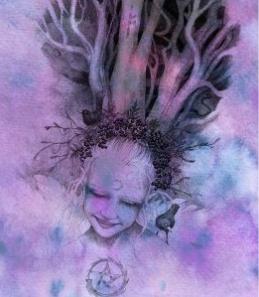 Rowan Tree Spirit - by NomeArt