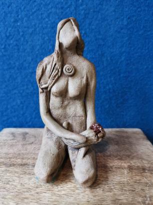 Altar Goddess with Cornucopia