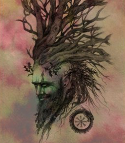 Holly Tree Spirit -by NomeArt