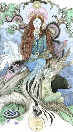 Empress Altar Card - By NomeArt