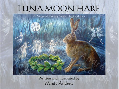 Luna Moon Hare Book by Wendy Andrews