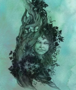 Ivy Tree Spirit - by NomeArt