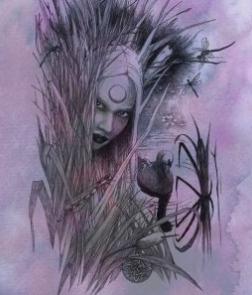 Reed Tree Spirit - Art Print
