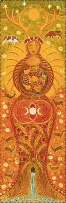Harvest Goddess Banner