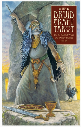 The DruidCraft Tarot by Philip Carr-Gomm