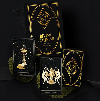 Divine Feminine Tarot Cards by CoCorrina