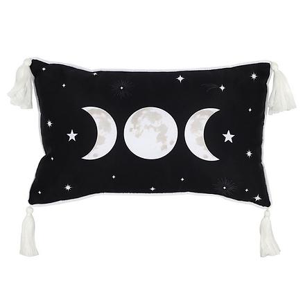 Rectangular Triple Moon Cushion