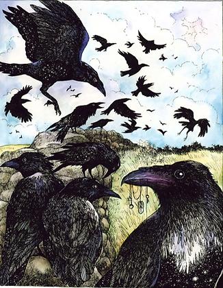 Raven - by NomeArt